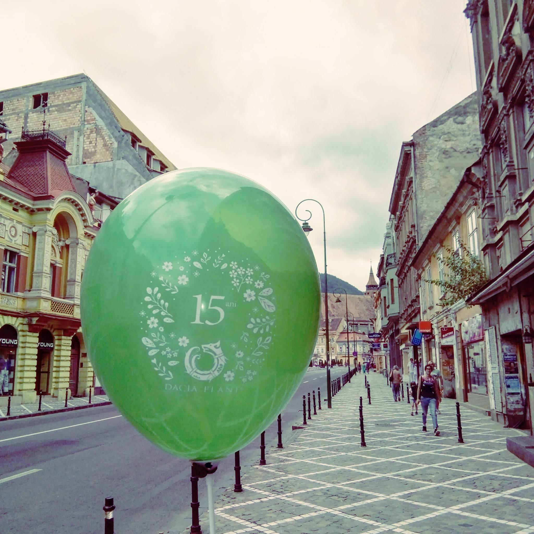 Brasov, balon Dacia Plant