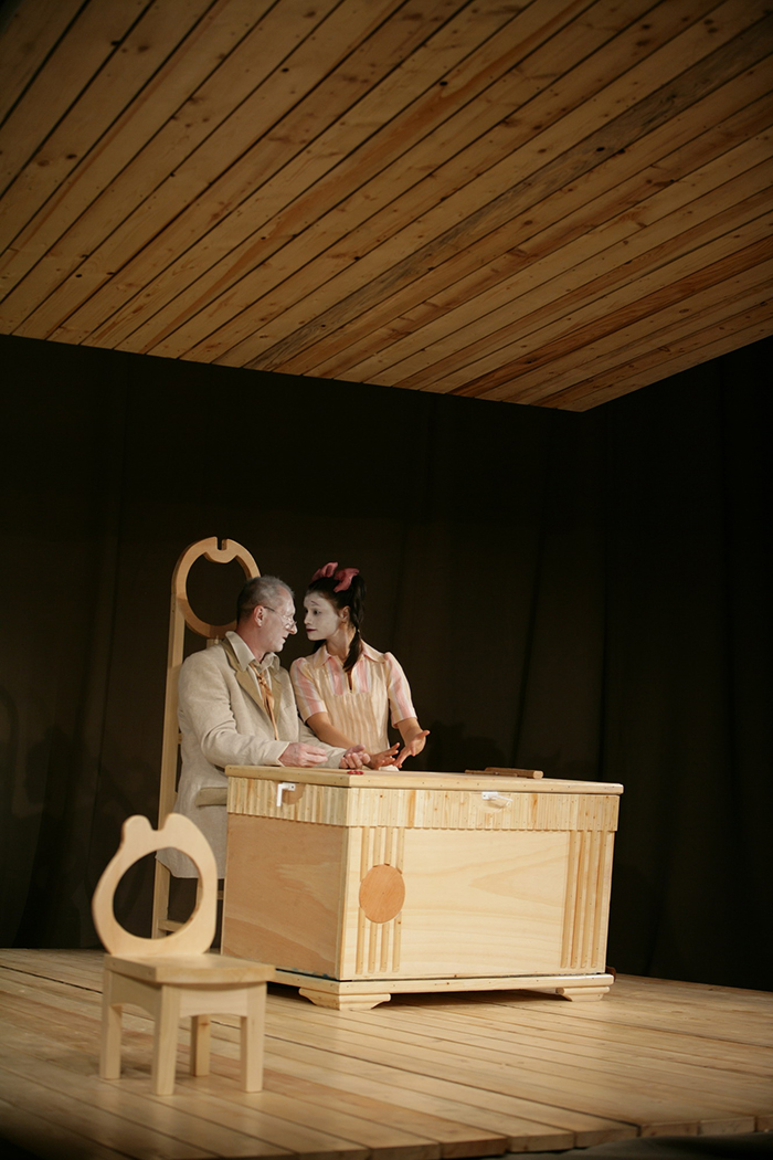 Horatiu Mălăele şi Aylin Cadîr in LECTIA (Album fotografii de Augustin Bucur)