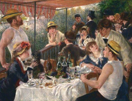 Le déjeuner des canotiers - 1880-1881